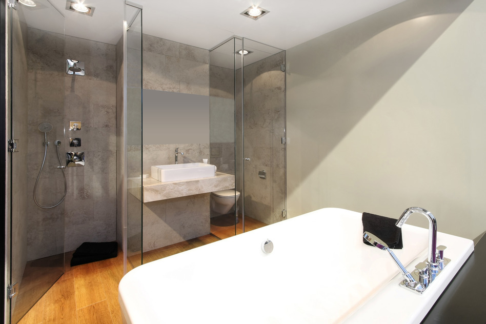 The absolute best bathroom renovations in brisbane for Bathtub material comparison